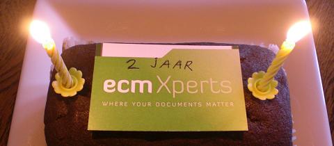 ecmXperts 2 jaar!